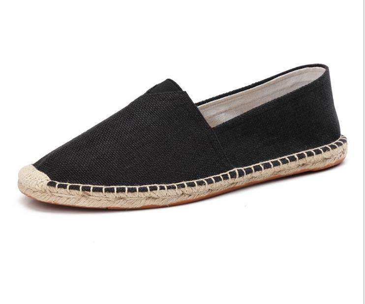 korean summer shoes No Lace Up wedge espadrilles fisherman loafers man and womens Custom Summer Style Cheap Price