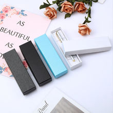 Custom logo four colors luxury pen box packaging cardboard pen box for pen