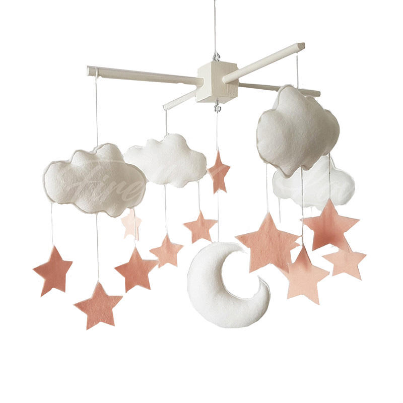 Hot selling nursery hanging toy felt baby mobile
