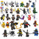 ninja figures mini toys action figures JAY KAI MUZZLE lepinly Building Blocks Education Gift For Kids Figures Kids Toys diy toys