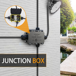 Factory Direct IP68 Waterproof Connector Box Electrical Junction Boxes Outdoor Street Light Connectors