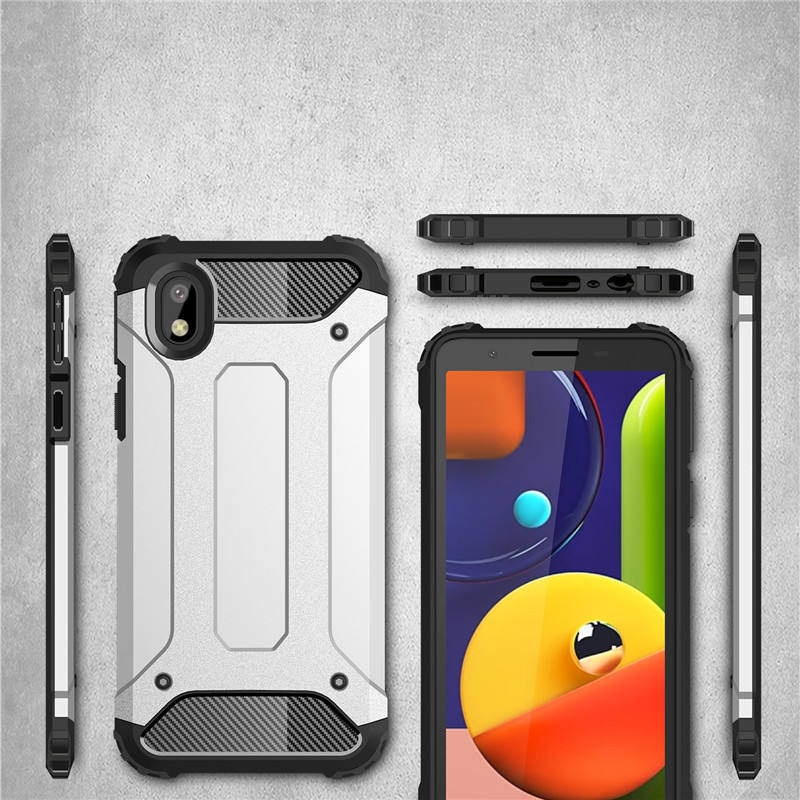 Shockproof Heave Duty Cover For Samsung Galaxy A01 Core Armor Case