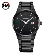 HANNAH MARTIN HM-17552 Men Business Original Brands Watches Stainless Steel Simple Charm Man Brand Watch Custom Logo
