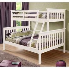 No. 1532 Modern Design Popular Solid Wood Triple pine bunk bed