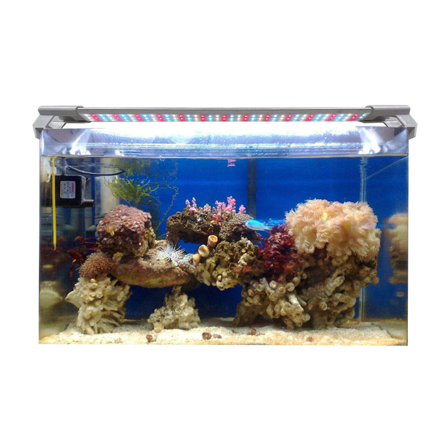 Adjustable Length 10センチメートルに100センチメートルCustomized Color Aquarium LampためDifferent Size Fish Tank Coral LED Aquarium Light