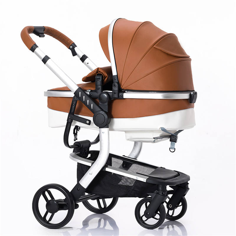 hot sale european 3 in 1 baby stroller with car seat / good quality China baby prams /hot mom luxury baby carriage 3 in 1