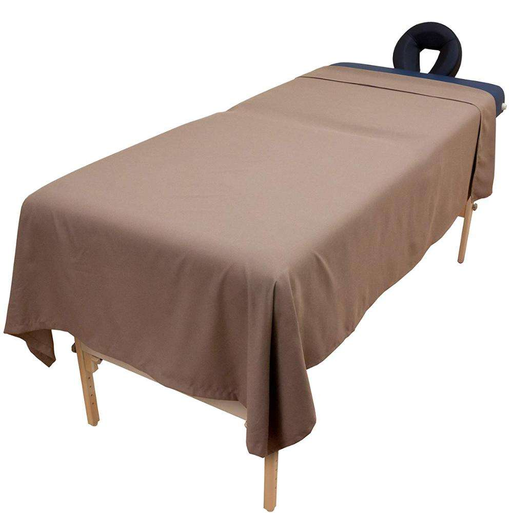 Wholesale Low Price Soft Wrinkle-free Microfiber SPA Massage Table Flat Sheet
