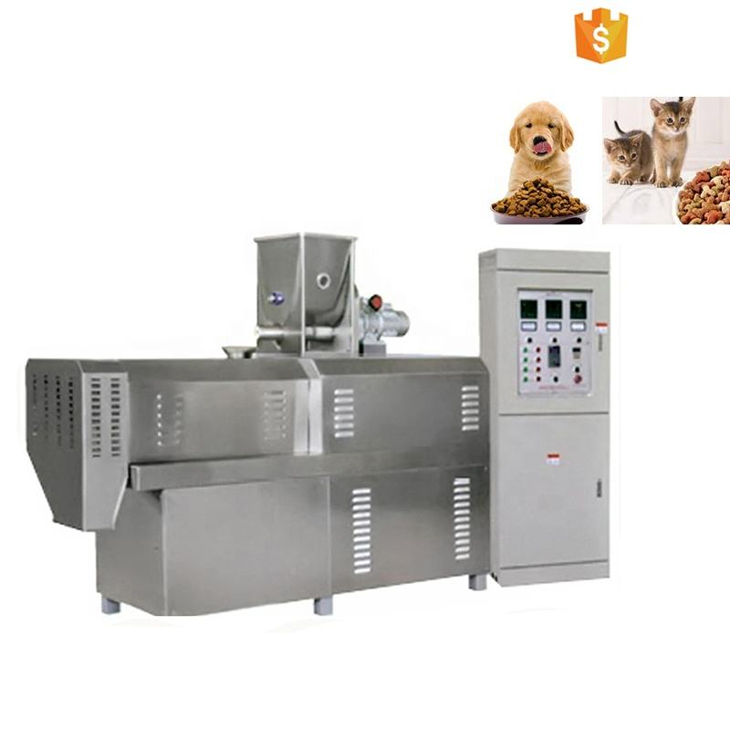 pet food manufacturing equipment making machine plant for making dog food