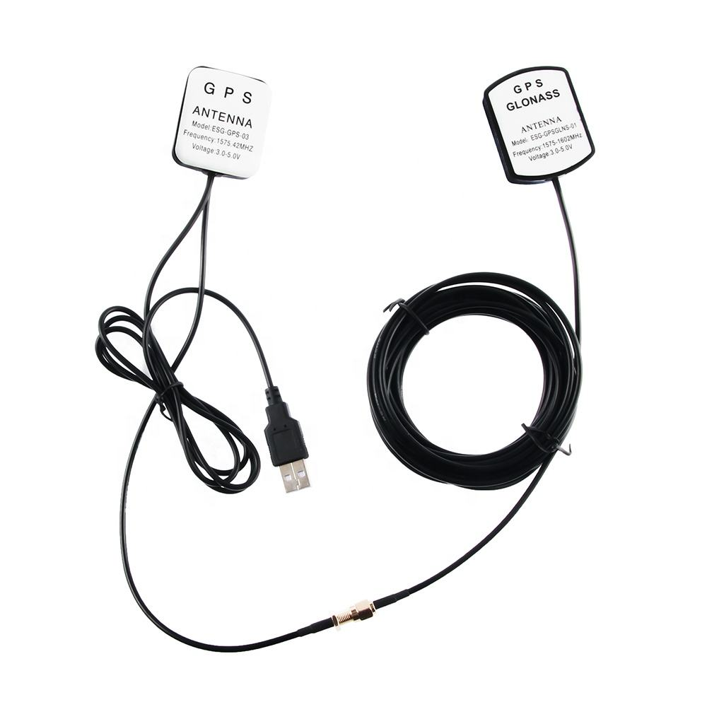 Factory Active GPS Receiving and Transmitting Integration Antenna 1575.42MHz With Customized Connector