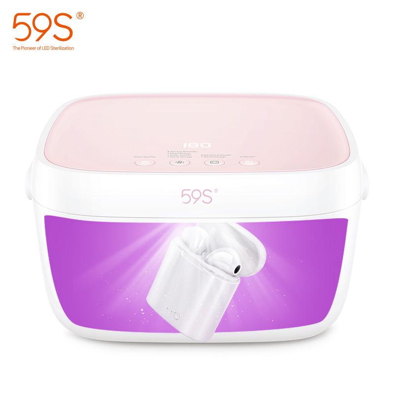 59s nuevo producto esterilizador UV caja de juguete para adulto para la masturbación de <span class=keywords><strong>mujeres</strong></span> Desinfección del producto