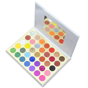 Private Label Makeup Cosmetics no brand wholesale makeup Pressed Eyeshadow Palette