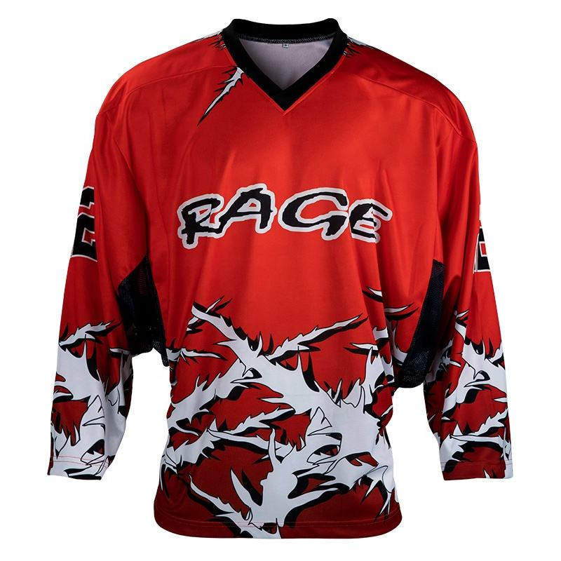 new sublimation print high speed ice hockey apparel unique hockey jerseys