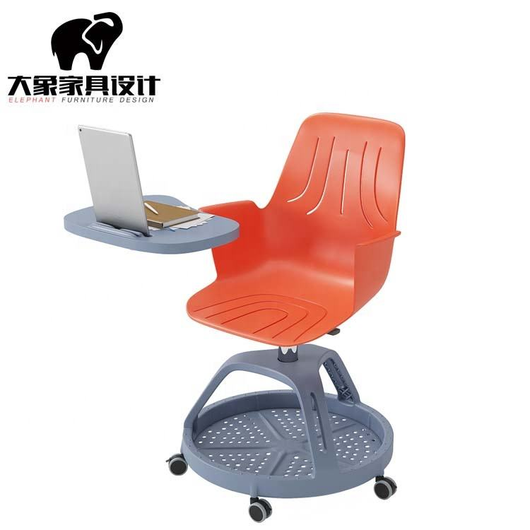 Wholesale Primary school Student Study Training Chair With Writing Pad