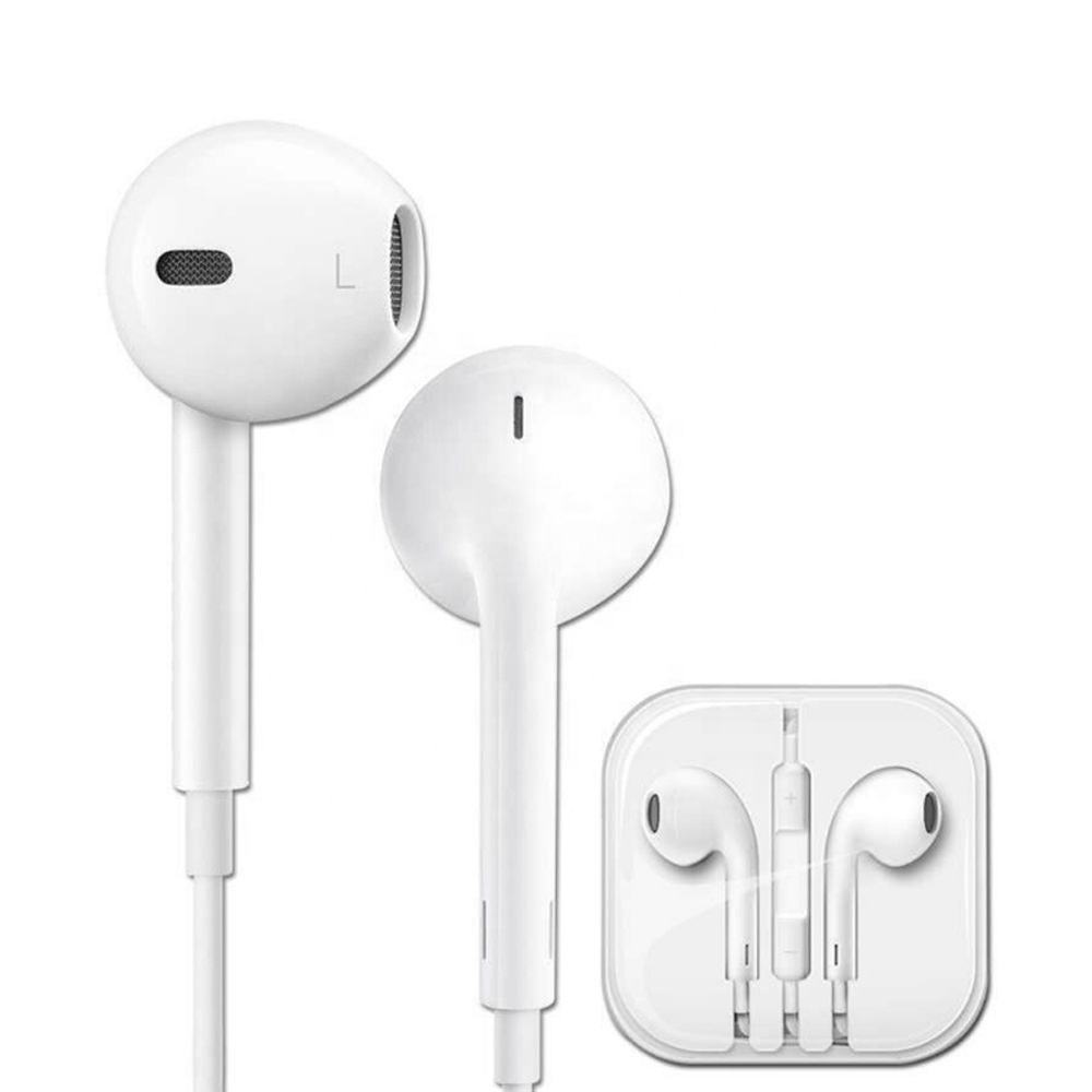 3.5mm Earphones with Mic for Apple iPhone iPad iPod 3.5mm jack wired headphones earphone for ios Android