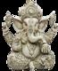 RESIN ANTIQUE BRONZE WHITE GOLD COLOR INDIA THAILAND BUDDHA ELEPHANT GOD HINDU GANESH HOUSE TEMPLE DECORATION STATUE TOY GIFT