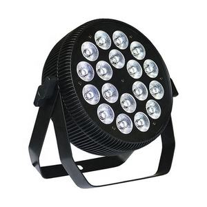 NEWComer 18X12 วัตต์ DJ WASH 18x10W RGBW 4IN1 QUAD LED Slim PAR 64 สามารถ