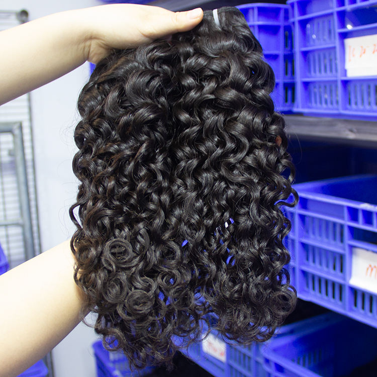 10a Grade Vendors Free Shipping Virgin Unprocessed Cuticle Aligned Bundles , Italy Curly Double Drawn Human Hair