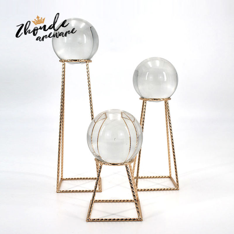 Arts and crafts supplies home decoration pieces luxury crystal ball home decoration decorative crafts