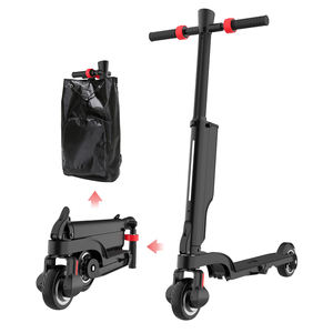 2020 Alibaba New 8.5inch 25KM Folding IP54 Waterproof Two Wheel Adult Electric Scooter