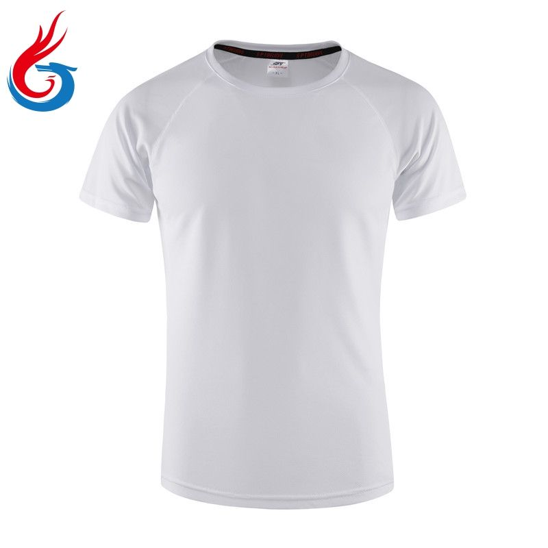 OEM factory custom top quality tshirt label white bamboo tshirt