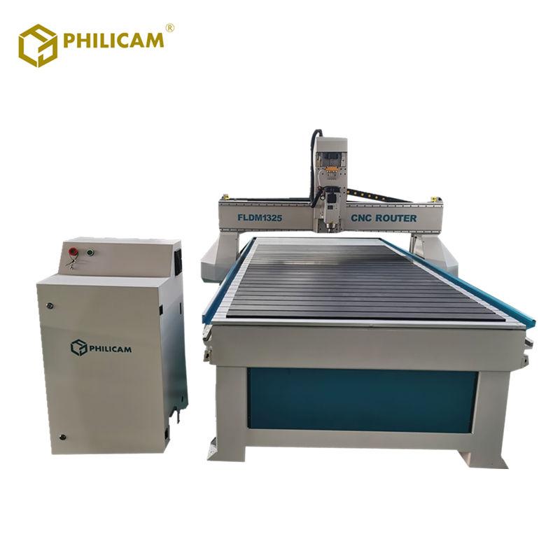 Trabajo de la madera 3d talla máquina de enrutador cnc con refrigerado por aire del husillo