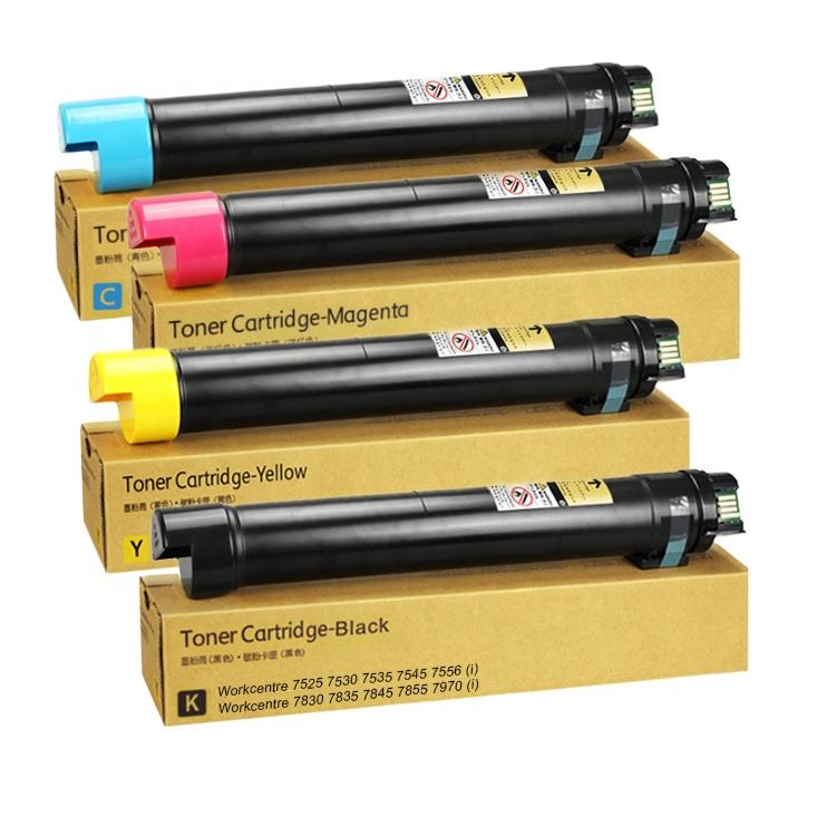 Genuine Quality Compatible Xerox Cartridge Toner WC 7525 7530 7535 7545 7556 7830 7835 7845 7855 7970 Printer inks