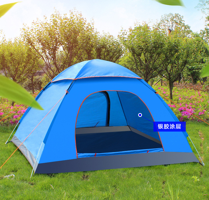 High Quality Easy Set up Folding Bed Camping Tent, 3-4 Persons Family Tent, Outdoor Tent for promotion