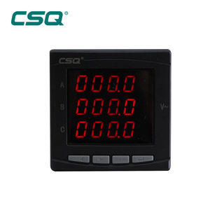Smart Ac 380V Ce/Cb Spanning 3 Fase Digitale Panel Meter Led Display Voltage Meter Voor Generator Leverancier