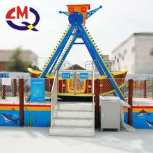 Popular amusement park ride small vikings boat Kiddie swing pirate ship ride for sales promotion