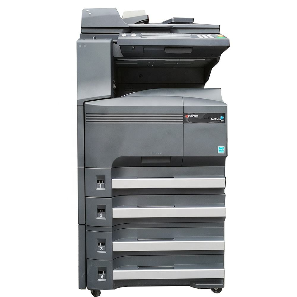 Refurbishd KYOCERAs TASKalfa 300i Multifunction Laser Printer Mono Scan Fax A3 Printer Copier Machine