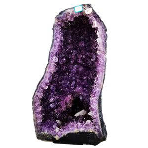 High quality Natural Big Brazilian Uruguay Amethyst Geode Crystal Decorative Amethyst Geode for sale