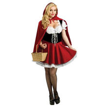 little red riding hood party women costume Adult QWAC-1113