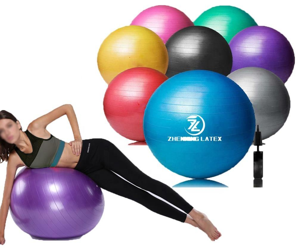Anti-burst Multiple Sizes Exercise Balls for Stability Balance Yoga