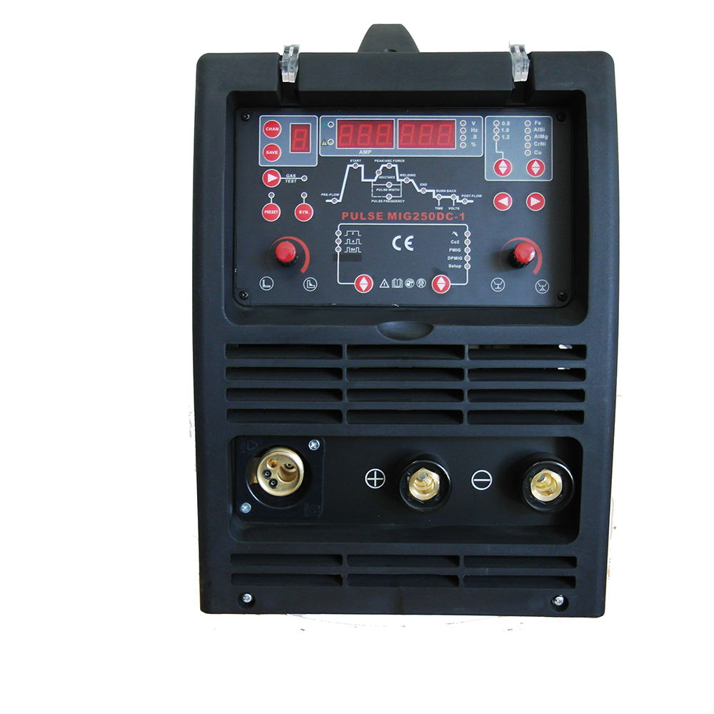 250A Doppel Puls <span class=keywords><strong>MIG</strong></span> Schweißen Maschine Synergic <span class=keywords><strong>MIG</strong></span> Inverter