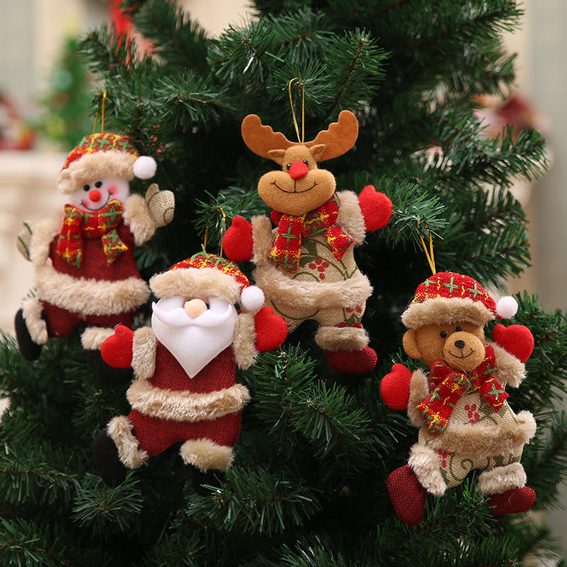 New Year 2021 2020 Christmas Gifts Home Deco Ornaments Decoration Supplies Christmas Tree Decoration Hanging Elf Doll