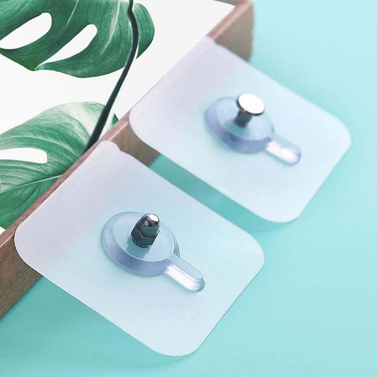 Punch-free pendant hanger seamless screw sticker hook photo frame kitchen hook