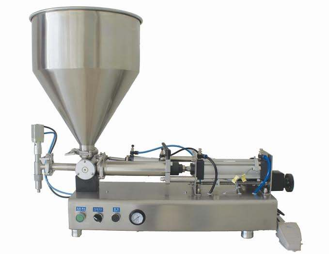Entry level high-accuracy semi-automatic tomato paste ketchup filling machine