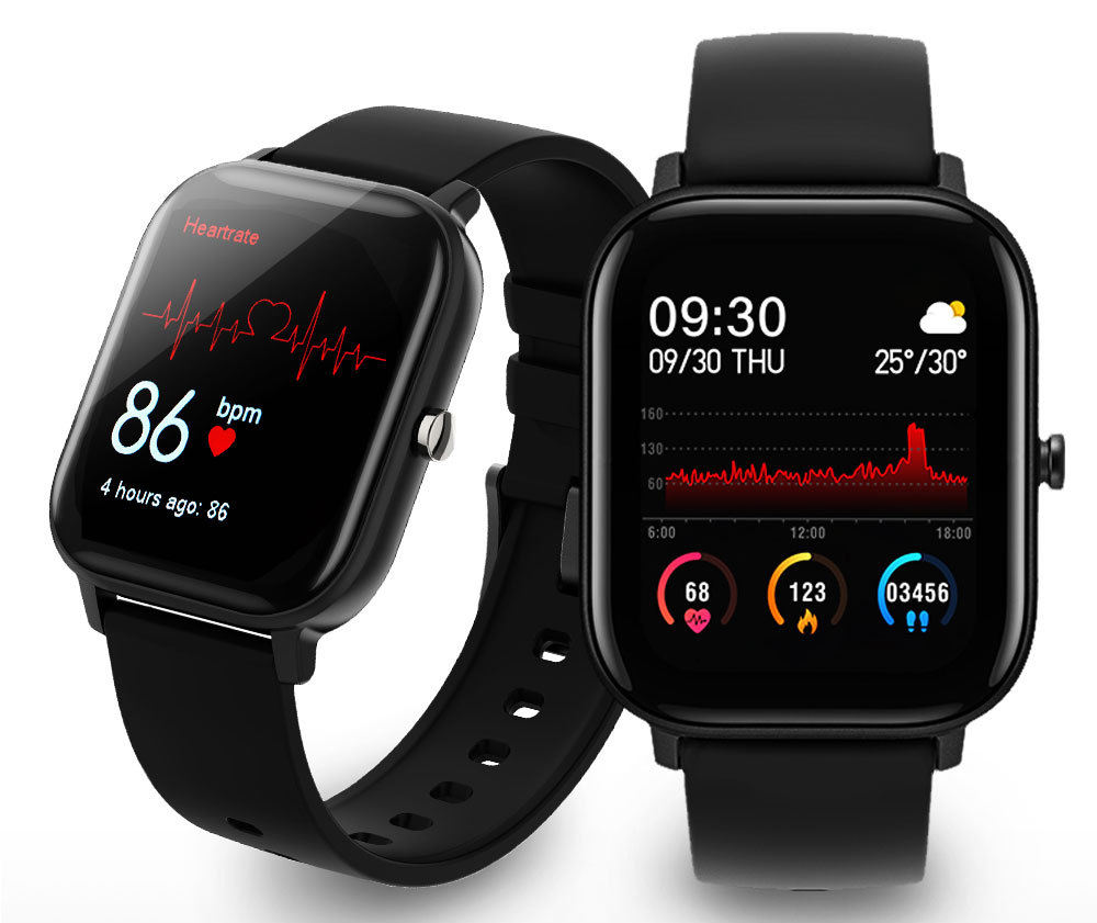 2021 New Arrival iOS Android P9 Smart Watch Wristband Blood Pressure Fitness Tracker Smartwatch