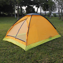 Portable Double Single Layer Simple Hand-Built Outdoor Camping Tent