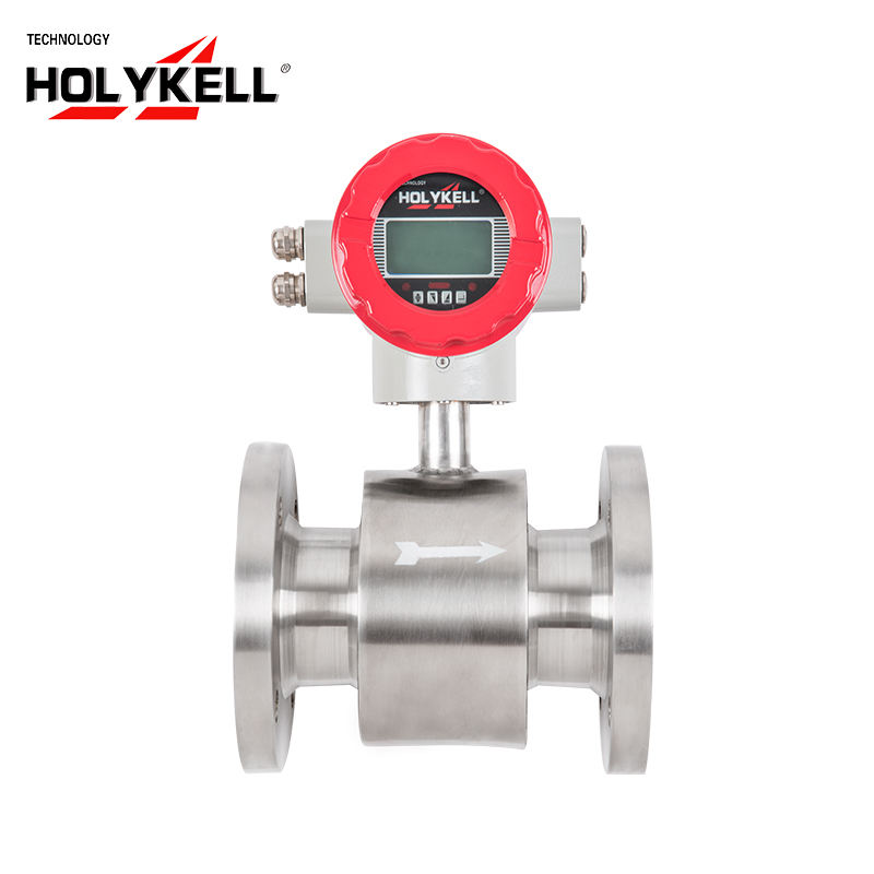 4800 Type Electromagnetic Flow Sensor Flowmeter with PTFE Lining Material