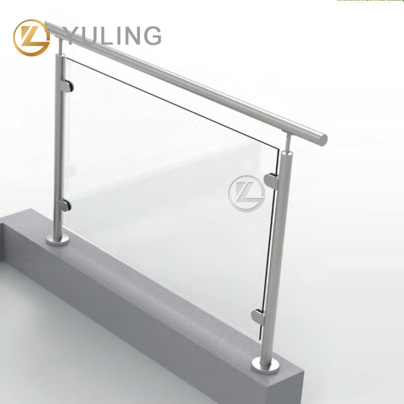 YL Top-ranked Excellent Shopping Experience Stainless Balustrade Post for Glass Railing