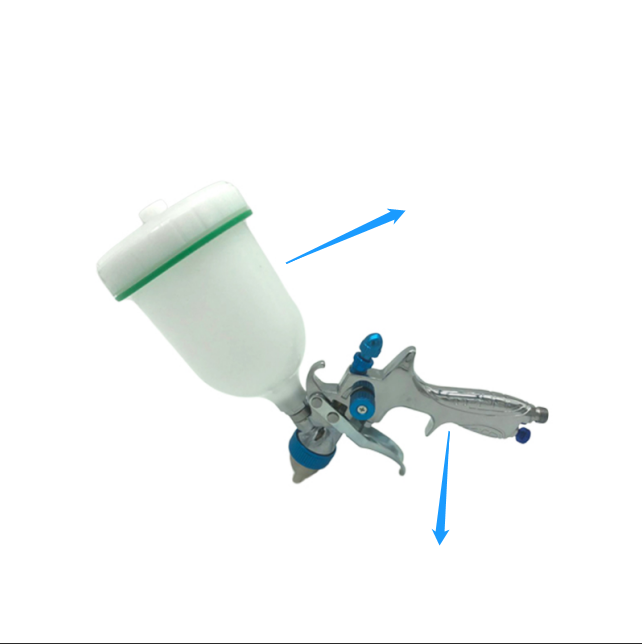 China Made Professional 1.0mm, 1.3mm, 1.4mm, 1.6mm, 1.8mm, 2.5mm Nozzle Spray Car Paint Gun