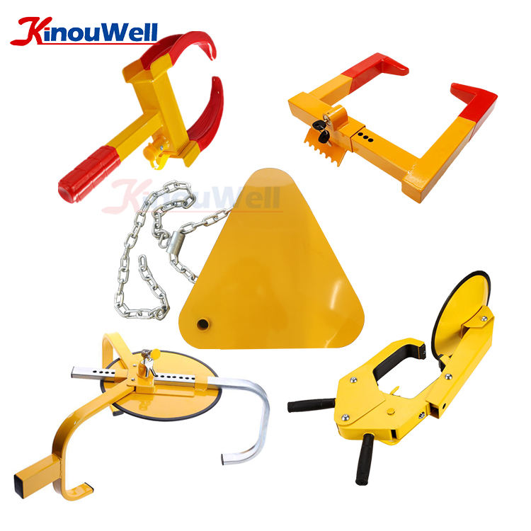 Wheel Clamp Manufacturer Best Car Tire Anti Theft Security Police Wheel Lock
