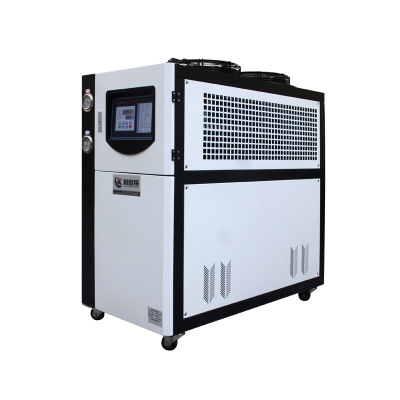 5 HP Small Cooling Water Chiller 300 Controller, Factory Price Industrial Recirculating Water Cooled Chiller