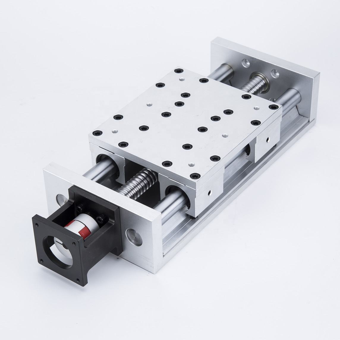Hot sale New product Load capacity 150kg 2 linear guide rail+4 slide blocks+1 ball screw motorized linear slide stage XBR140GS