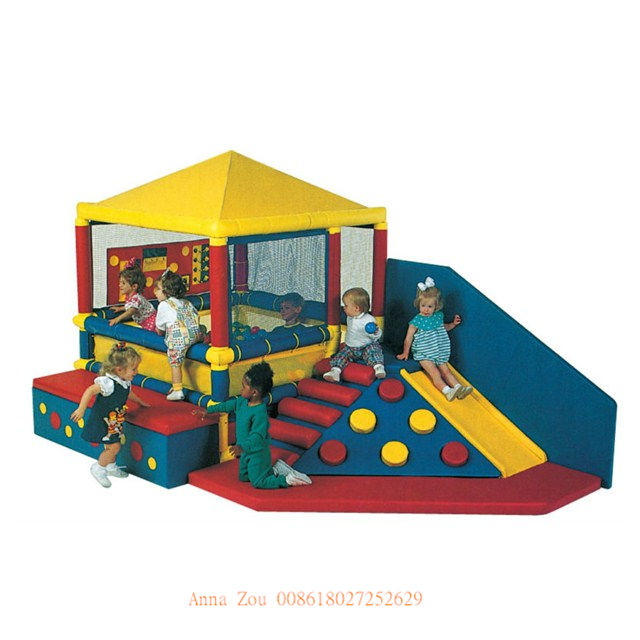 PVC materiale soft play area per la vendita soft play area per i bambini QX-18150A
