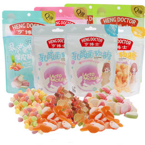 Sour Calories Lychee Peach Mango Low Carbs Gummy Candy