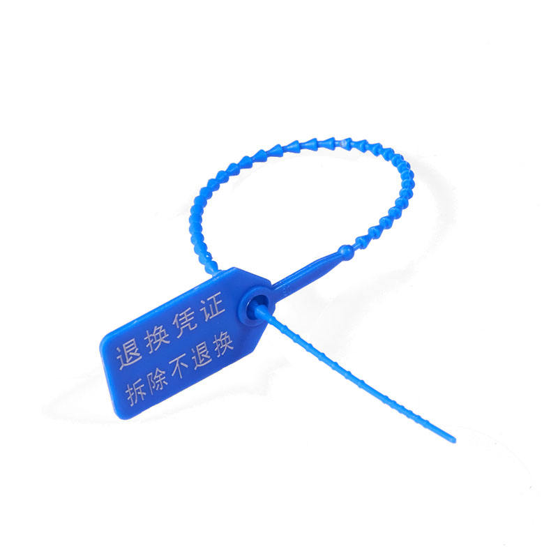 High quality disposable plastic inspection oem zip tie tag, plastic hang tag for cable