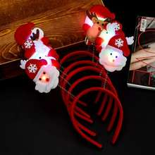 christmas headband 	led light headband  light up headband
