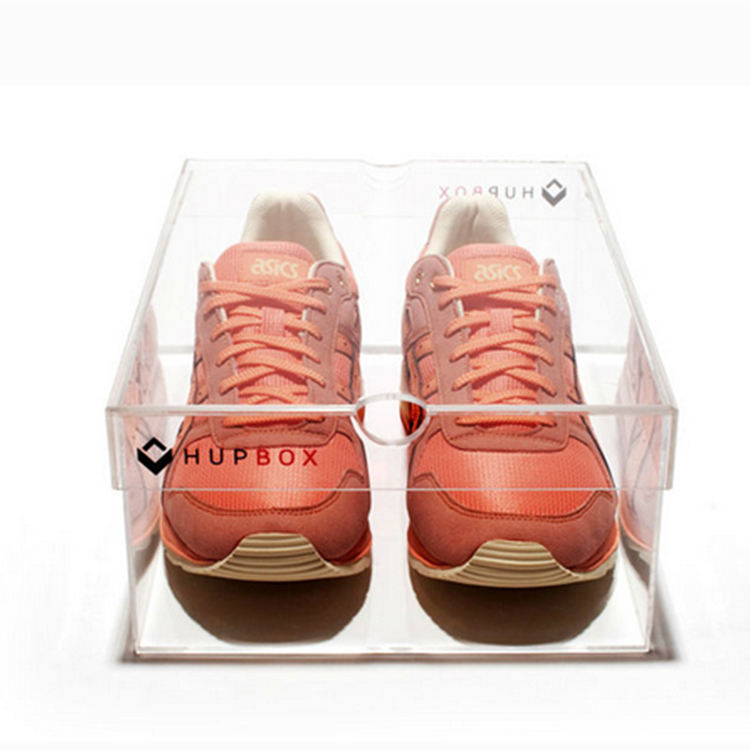 Clear Acryl Sliding Shoe Box <span class=keywords><strong>Air</strong></span> <span class=keywords><strong>Force</strong></span> 1 Schoenen